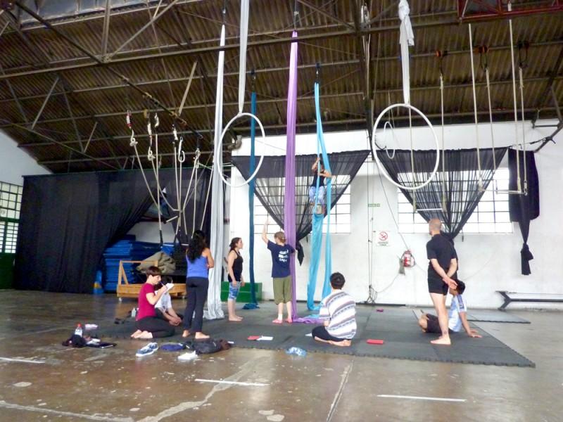 1st workshop 1 of 100 climbs